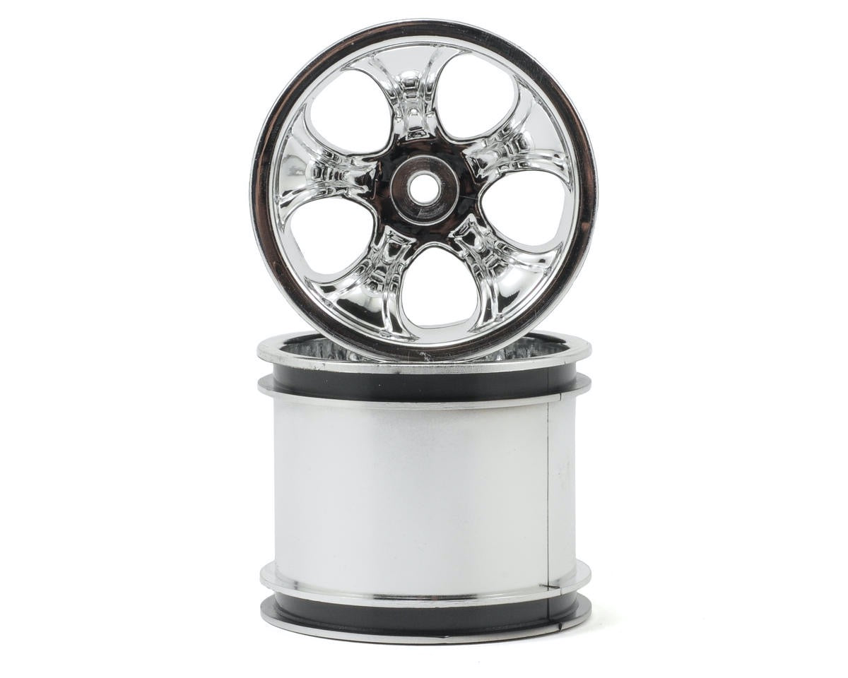 "RPM Bully 2.2"" Truck Wheels TRA Electric Front Chrome RPM82123"