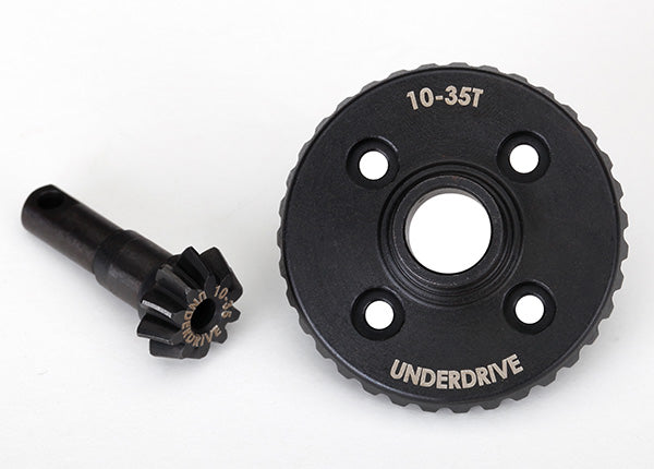 Traxxas Ring Gear, Differential/ Pinion Gear, Differential (Underdrive, Machined) TRA8288