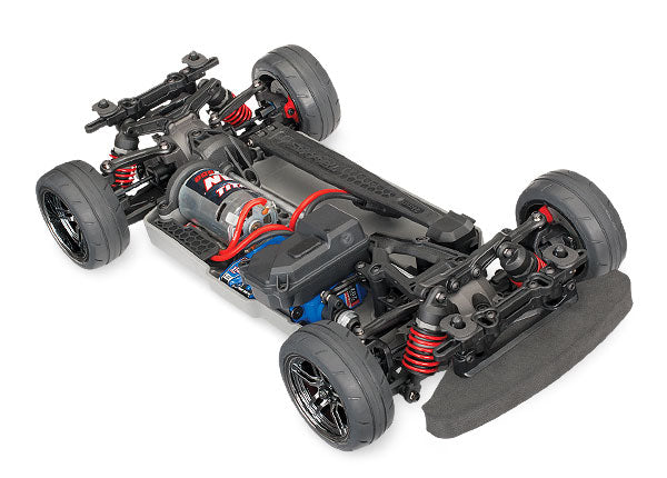 Traxxas 4-Tec 2.0 1/10 Scale AWD Chassis with TQ 2.4GHz Radio System TRA83024-4