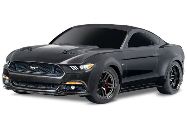 Traxxas Ford Mustang GT: 1/10 Scale AWD Supercar With TQ 2.4GHz Radio System TRA83044-4