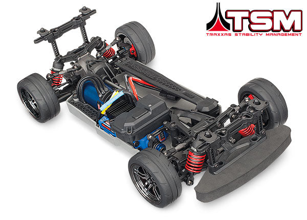 Traxxas 4-Tec 2.0 VXL: 1/10 Scale AWD Chassis with TQi Traxxas Link Enabled TRA83076-4