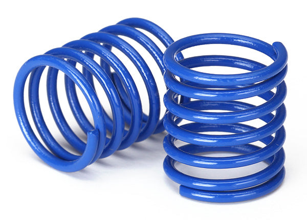 Traxxas Spring Shock (Blue) (3.7 Rate) (2) TRA8362X