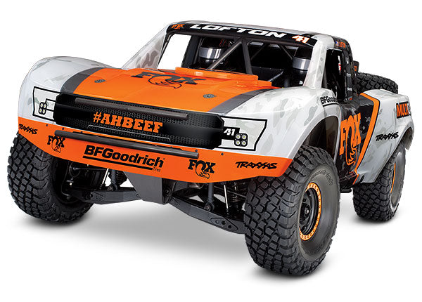 Traxxas Unlimited Desert Racer: 4WD Electric Race Truck with TQi Traxxas Link Enabled 2.4GHz Radio System TRA85076-4-FOX