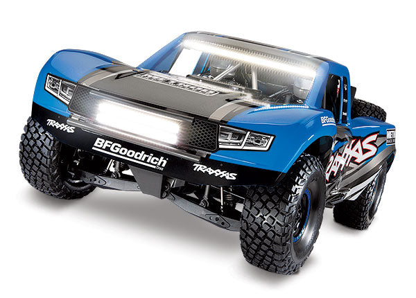 Traxxas Unlimited Desert Racer: 4WD Electric Race Truck. RTR w TQi 2.4GHz Traxxas Link Enabled Radio System, Velineon VXL-6s Brushless ESC (Fwd/Rev), and TSM TRA85086-4-TRX