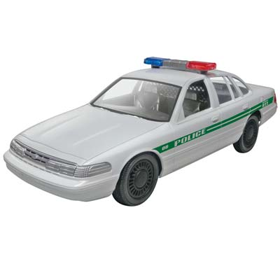 Revell 1/25 Ford Police Car Build/Play RMX851688