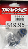 Traxxas Carrier, Differential, Aluminum (Front or Center)/ X-Ring Gaskets (2) Ring Gear Gasket/ 14.5x20 TW (2) TRA8581X