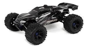 Traxxas E-Revo VXL Brushless 1/10 Scale 4WD Brushless Electric Monster Truck w TQi 2.4GHz Radio System, Velineon® VXL-6s Brushless ESC (fwd/rev), and TSM TRA86086-4-BLK