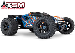 Traxxas E-Revo VXL Brushless: 1/10 Scale 4WD Brushless Electric Monster Truck with TQi 2.4GHz Traxxas Link Enabled Radio System and Traxxas Stability Management (TSM) TRA86086-4-ORNG