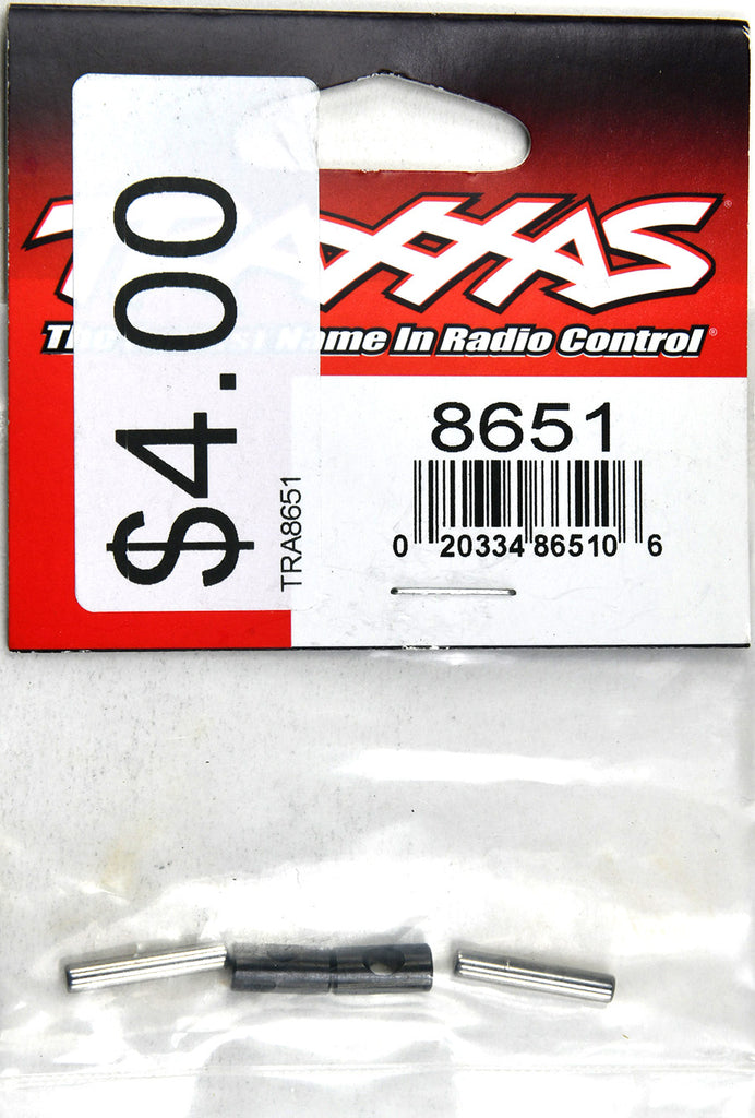 Traxxas Rebuild Kit, Driveshaft (Cross Pin (2)/ 16mm Pin (2)) (Metal Parts For 2 Driveshafts) TRA8651