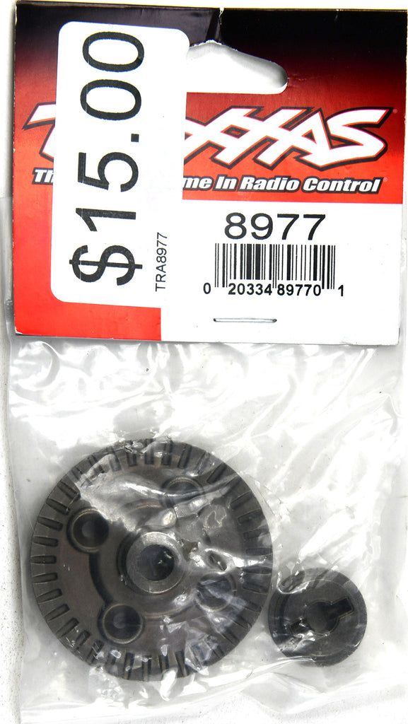 Traxxas Ring Gear, Differential/ Pinion Gear, Differential (Rear) TRA8977