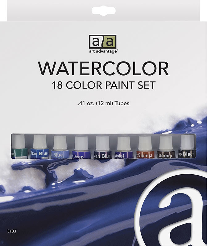 C2f 18 Color 12ml Watercolor Set ART3183