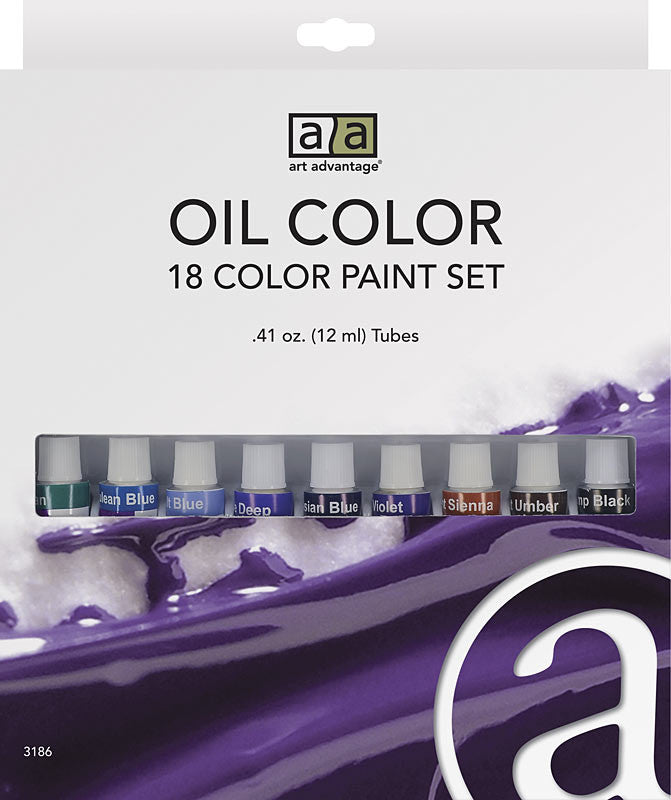 C2f 18 Color 12ml Oil Set ART3186