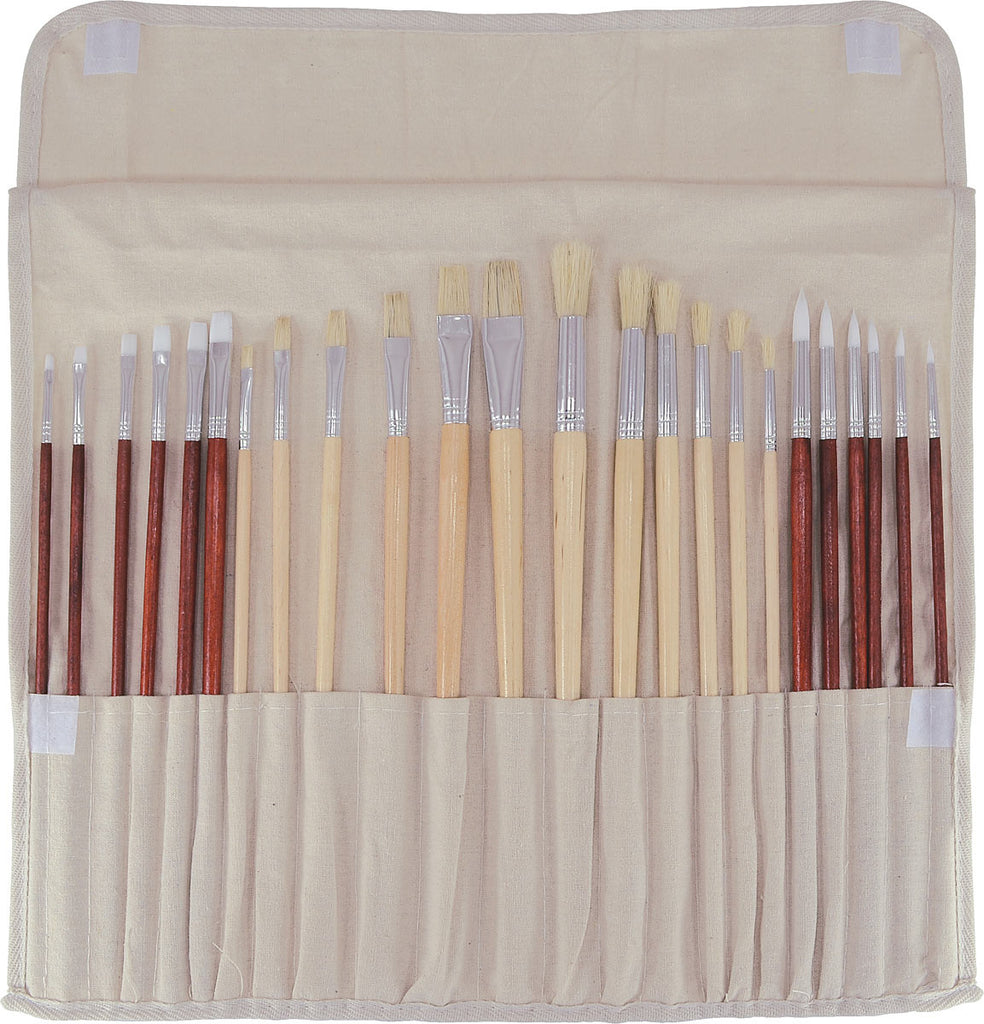 C2f 24PC Oil/Acrylic Brush Set ART8724VP