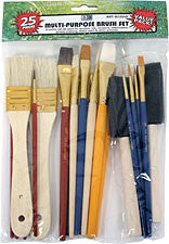 C2f 25 Piece Multi-Purpose Brush Set ART8725VP