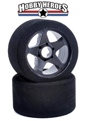 Contact 1/8 Front 5 Spoke 32 Shore Black Rim. CONJ83206