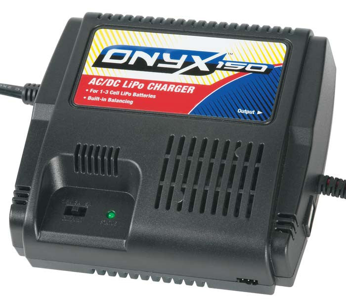 Duratrax Onyx 150 AC/DC LiPo Balancing Charger Charger