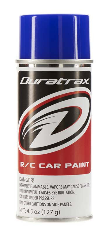 Duratrax Blue Flash 4.5 oz Polycarbonate Spray Paint DTXPC252