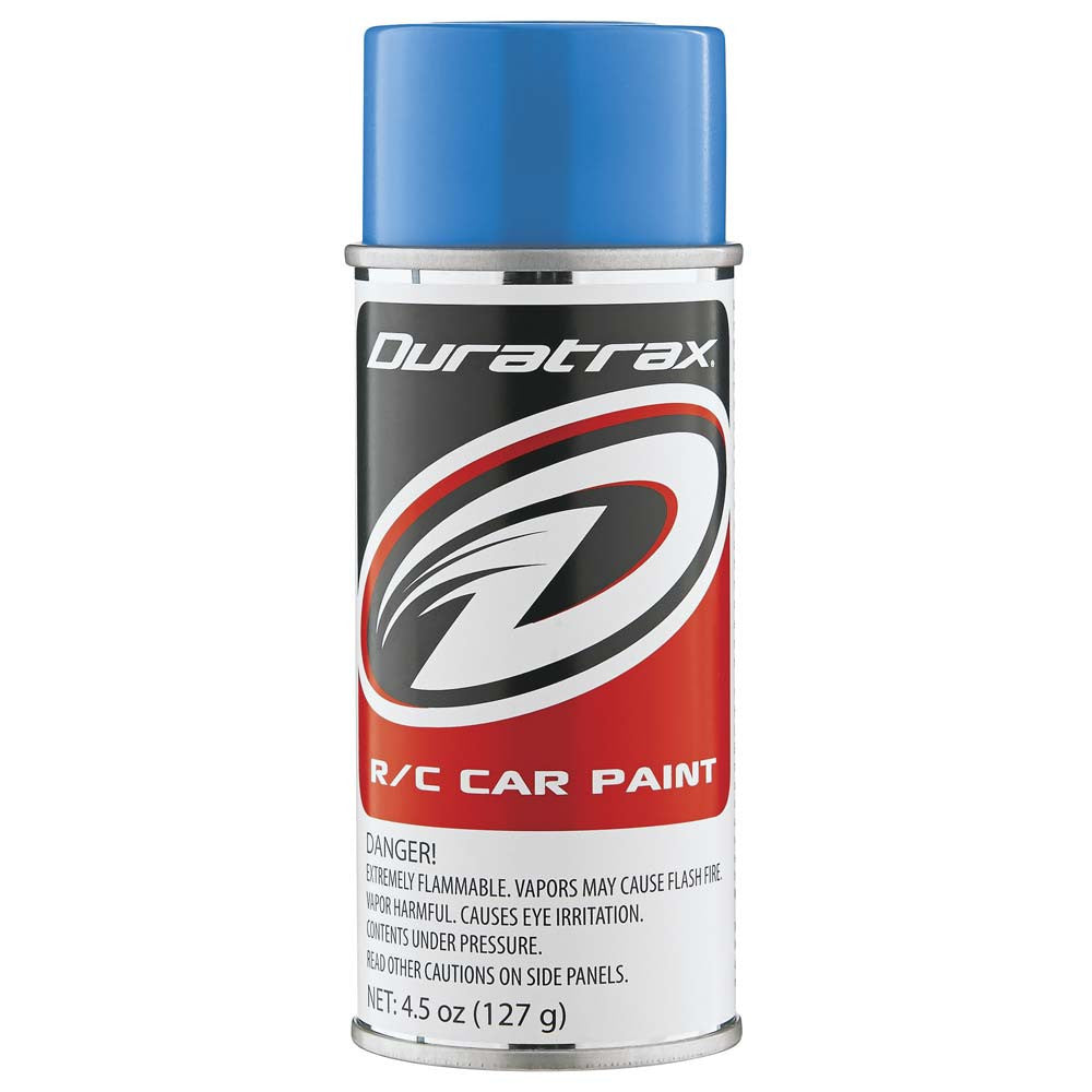Duratrax Light Blue 4.5oz Polycarbonate Spray Paint DTXPC253