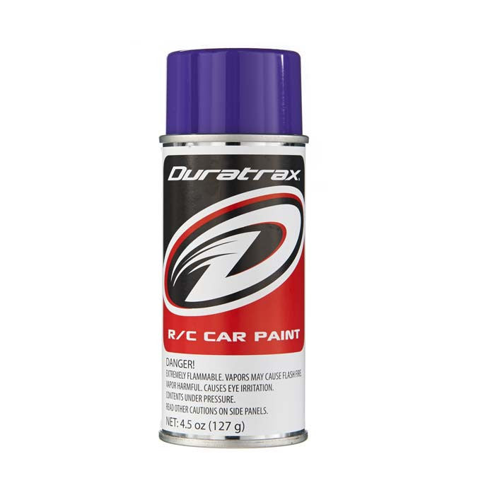 Duratrax Candy Purple 4.5 oz Polycarbonate Spray Paint
