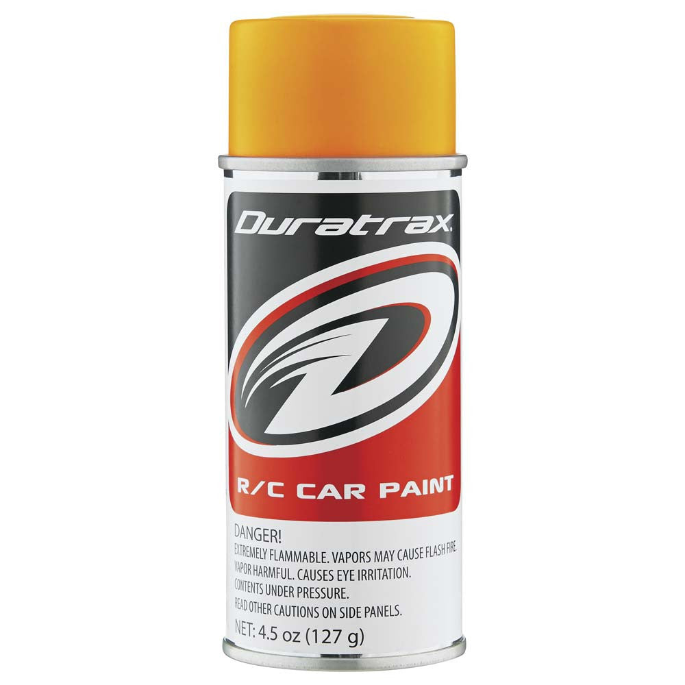 Duratrax Fluorescent Bright Orange 4.5oz Polycarb Paint