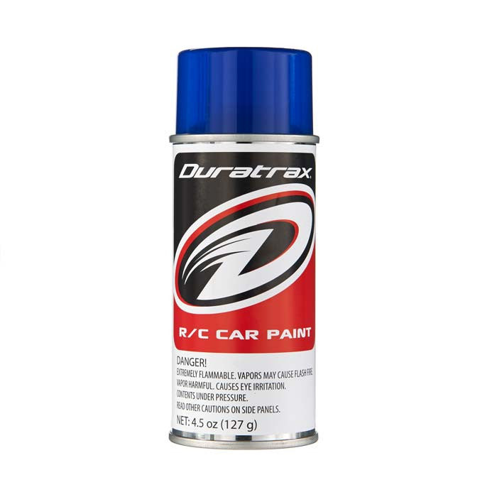Duratrax Pearl Blue 4.5 oz Polycarbonate Spray Paint