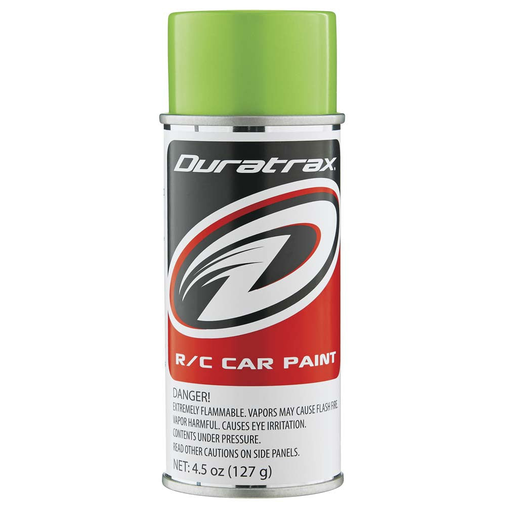 Duratrax Lime Pearl 4.5oz Polycarbonate Spray Paint