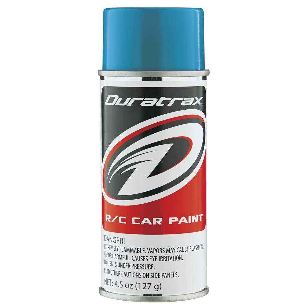 Duratrax Teal 4.5oz Polycarbonate Spray Paint