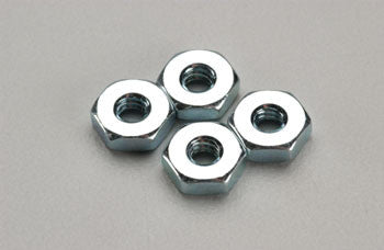 Dubro Steel Hex Nut 6-32 (4) DUB562