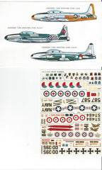 ESCI T33 DECALS 1/72