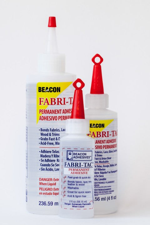 Beacon Glue Fabric Tac Glue 4oz 5494741298