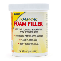 Beacon Glue Foam Tac Foam Filler 8oz 054947300013