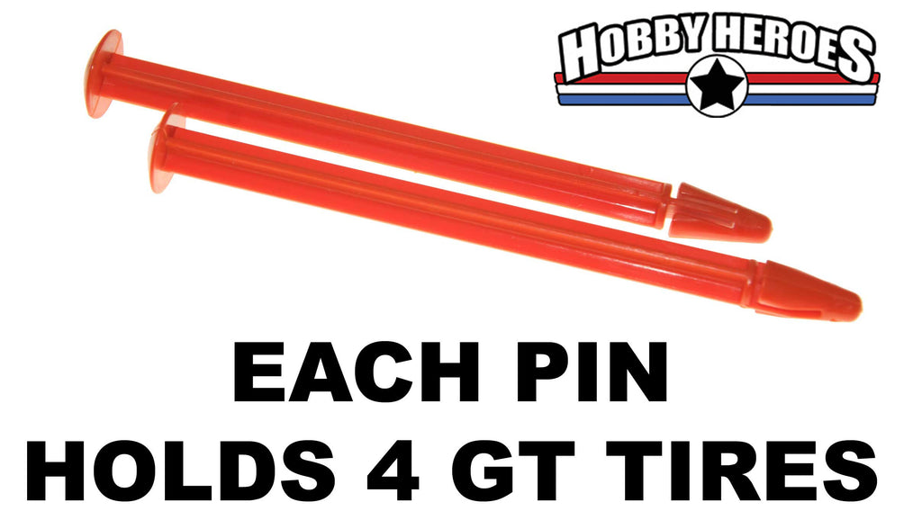 GRPGG01PIN, 2 GT TIRE PINS TO HOLD UP TO 4 GT TIRES