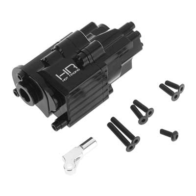 Hot Racing SCXT3801 Alum Center Transmission Gearbox Case SCX10 II HRASCXT3801