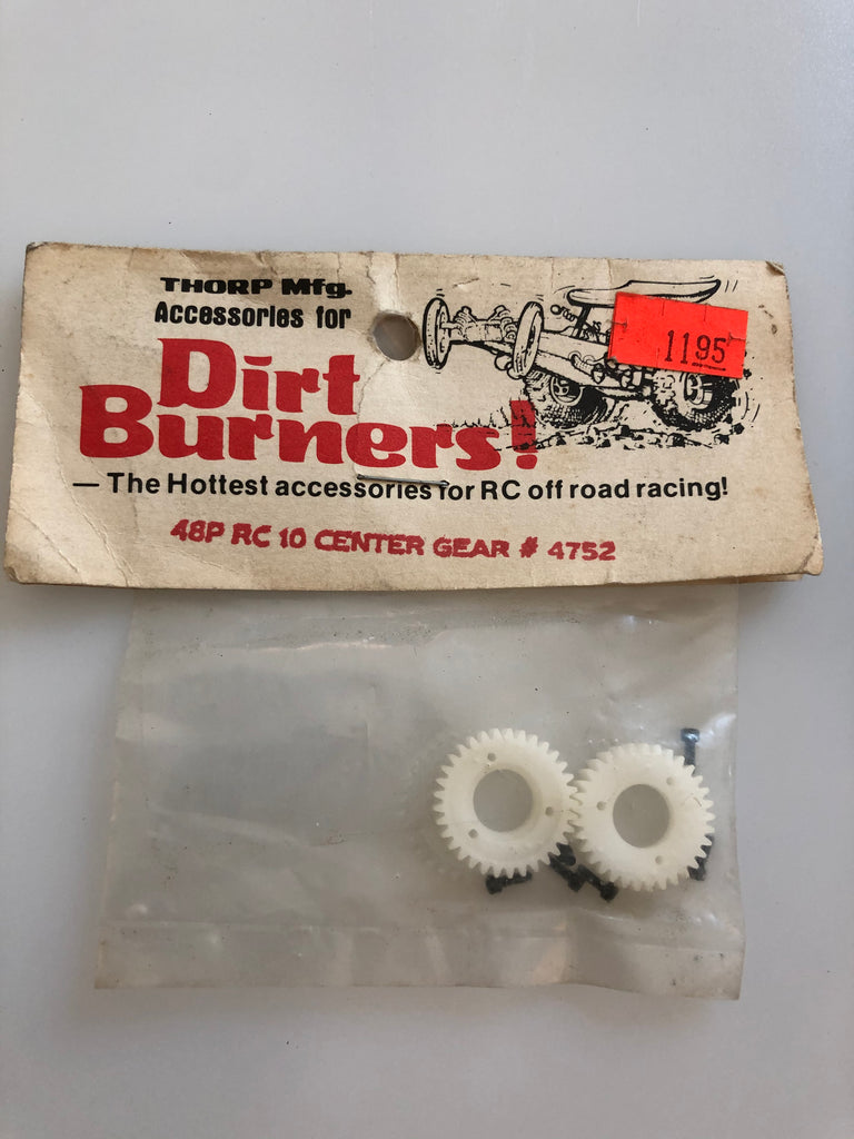 Thorp Dirt Burners 48P RC10 Center Gear Vintage THO4752