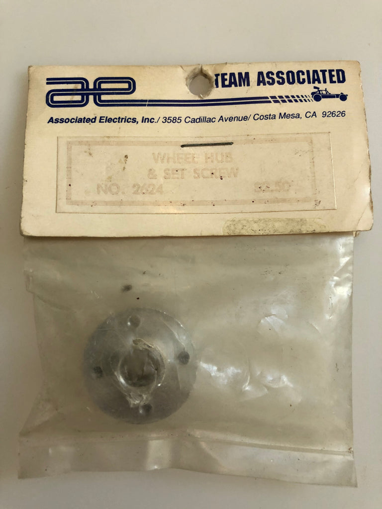Associated ASC Wheel Hub & Screw Set ASC2624