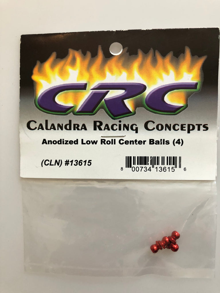 CRC Anodized Low Roll Center Balls (4) CLN13615