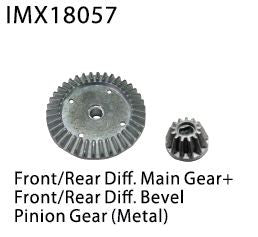Imex Diff Main Gear and Pinion IMX18057