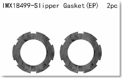 Imex 1/10 Short Course Truck Slipper Gasket EP)2PCS IMX18499