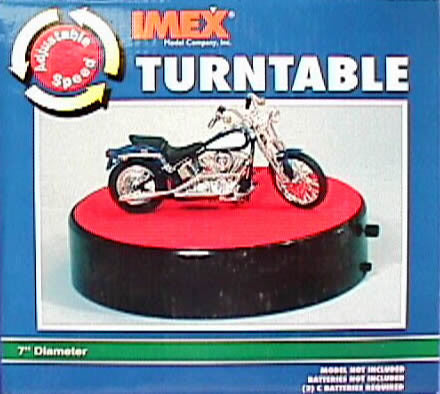 Imex 7  Adjustable Speed Turntable IMX2551