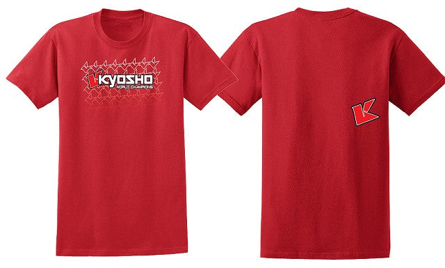 Kyosho 2XL Red KFade 2.0 Short Sleeve KYOKA10003S2X