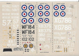 MODELDECAL NO 18  ROYAL NAVY POST WAR  DECALS 1/72