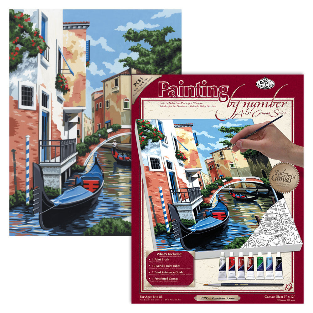 Royal Pbn Venetian Scene Sm Canvas ROYPCS5