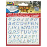 Revell Peel & Stick Holographic Decal Numbers/Letters RMXY9446