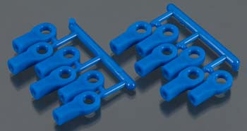 RPM Rod Ends Short Blue Traxxas RPM80475