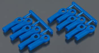 RPM 80515 Rod Ends Long Blue TRA Nitro Slash RPM80515