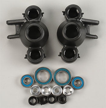 RPM Axle Carriers/Steering Blocks Black Revo RPM80582