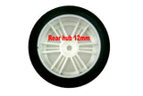 Contact 1/10 Front 26mm 37 Shore Carbon Rim On Road Foam Tires CONJ13773