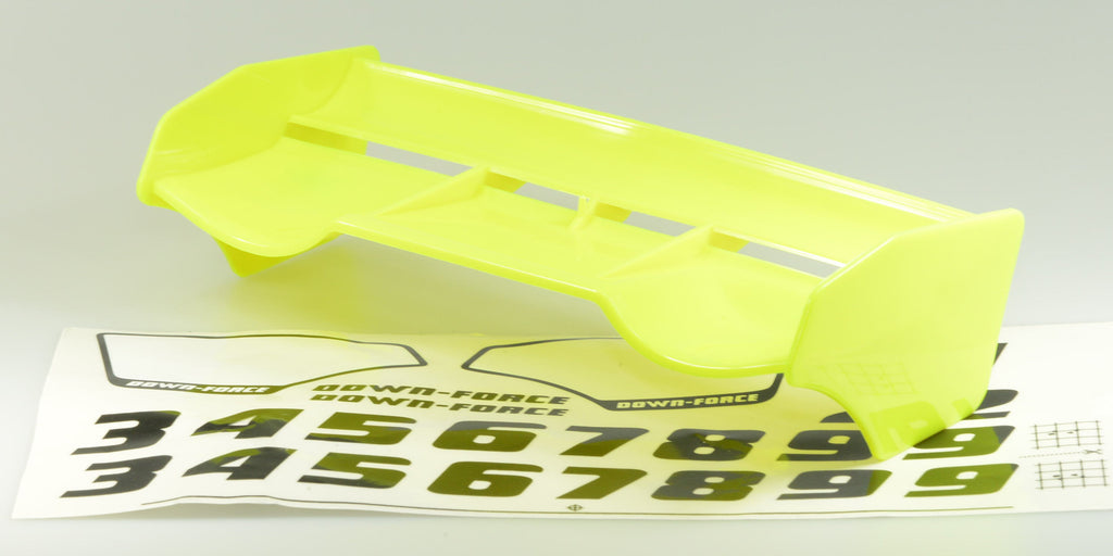 Wing 1/8 Off Road AIR DOWN-FORCE Universal Yellow SP10030