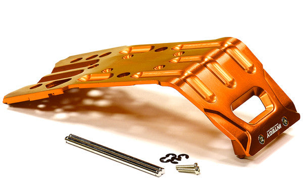 Integy Billet Machined T2 Skid Plate Savage X 4.6 2011, Flux & Savage XL INTT6722ORANGE
