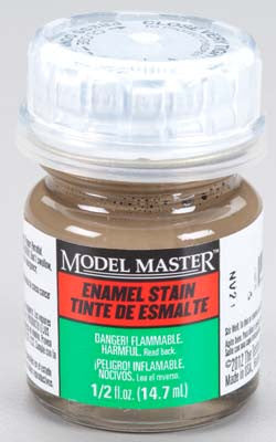 Testors Model Master Natural Detail Stain (SG) 2-Jan oz TES2183